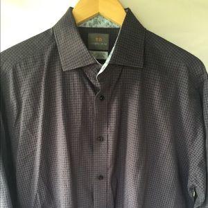 THOMAS DEAN Casual Button Down Shirt